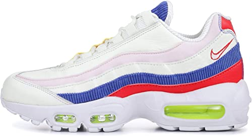 NIKE Air Max 95 SE SailArctic Pink Racer Blue (Womens) (8 B