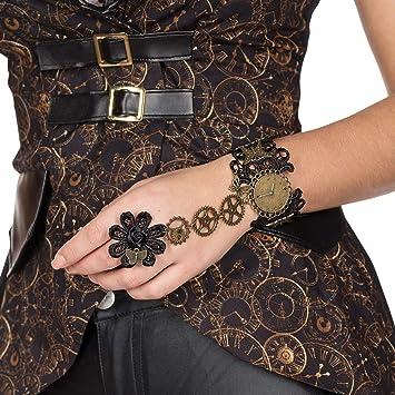 Amakando Bracelet Victorien avec Roues dentées / Marron-Bronze ...