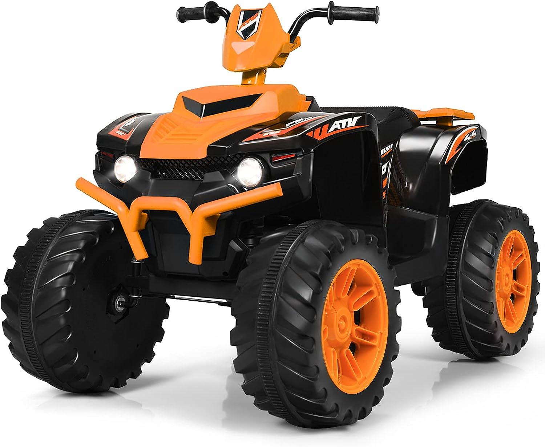 Costzon Ride 4 Wheeler Quad Car