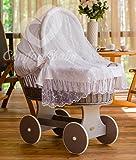 ComfortBaby Snuggly Baby Stubenwagen mit Moskitonetz - komplette 'all inclusive' Ausstattung - Zertifiziert & Sicher