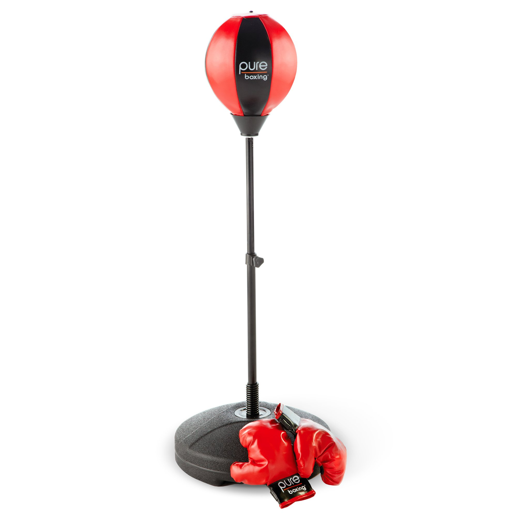 Pure Boxing Punch and Play Punching Bag for Kids - Red by Pure Boxing