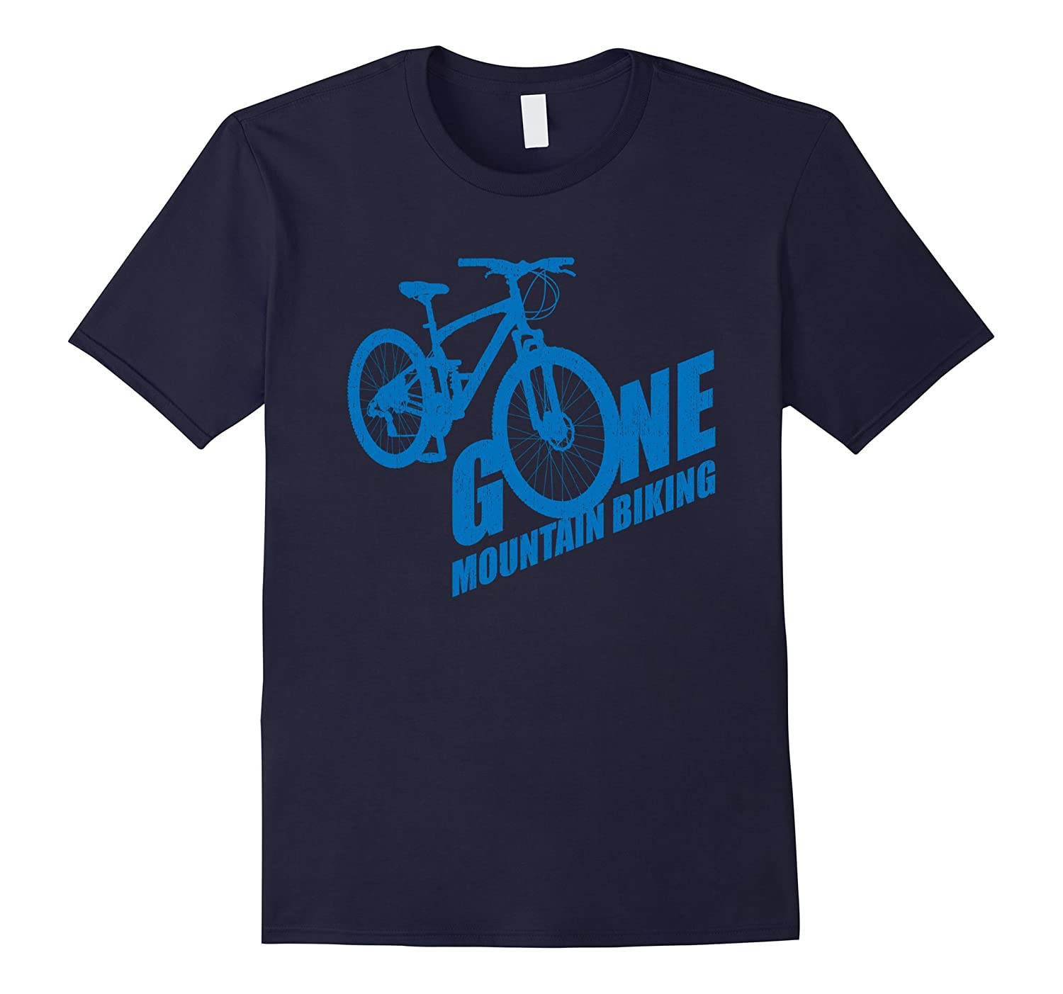 Mountain Bike Tshirt Gone MTB t-shirt-Rose