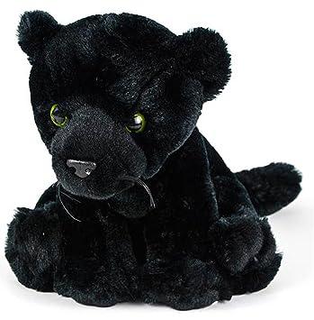 Amazon Com Wildlife Tree 8 Black Panther Stuffed Animal Plush