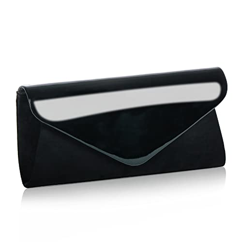 ef790d3b8fa9 Patent Leather Clutch Classic Purse Wallet