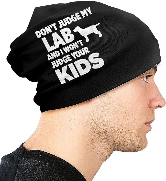 JINGUImao Don/â/€t Judge My Lab I Won/â/€t Judge Your Unisex Warm Hat Knit Hat Skull Cap Beanies Cap