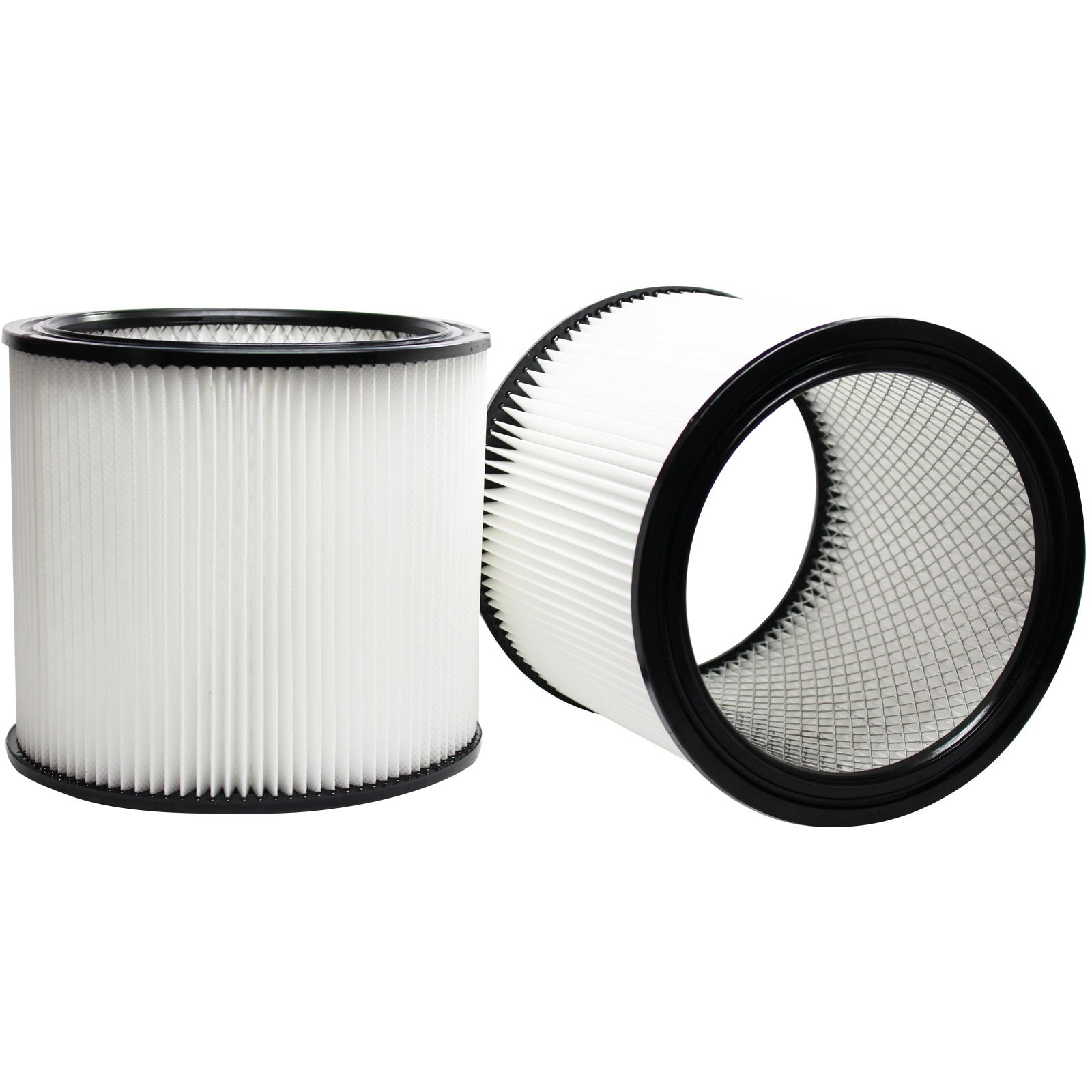 2-Pack Replacement 90304 Filter for Shop-Vac - Compatible with Shop-Vac 90304, Shop-Vac LB650C, Shop-Vac QPL650, Shop-Vac 965-06-00, Shop-Vac CH87-650C, Shop-Vac SL14-300A, Shop-Vac 925-29-10, Shop-Vac 963-12-00, Shop-Vac 596-07-00, Shop-Vac 586-74-00, Sh by UpStart Battery (Image #1)