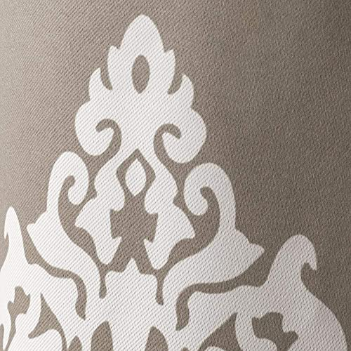 Exclusive Home Medallion Blackout Grommet Top Curtain Panel Pair - a good cheap window curtain panel