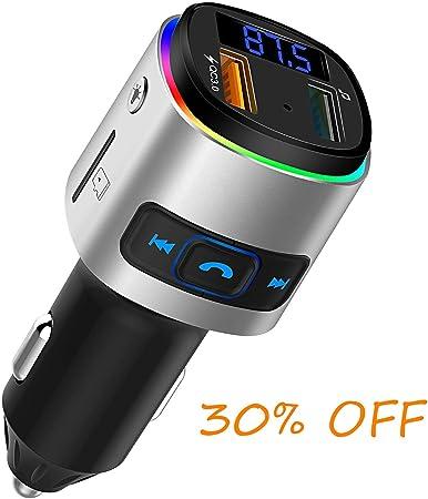 Bluetooth 5 0 Fm Transmitter Freisprecheinrichtung Für Elektronik