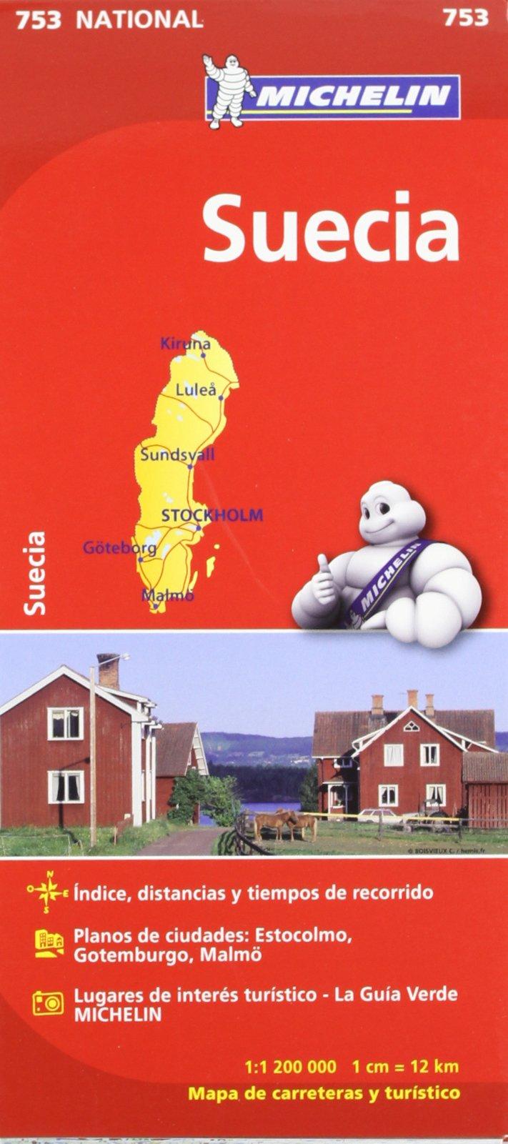 Mapa National Suecia (Mapas National Michelin): Amazon.es: Vv.Aa ...