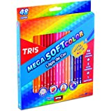 Lápis Cor, Tris, 7897476684055, Multicor, pacote de 48