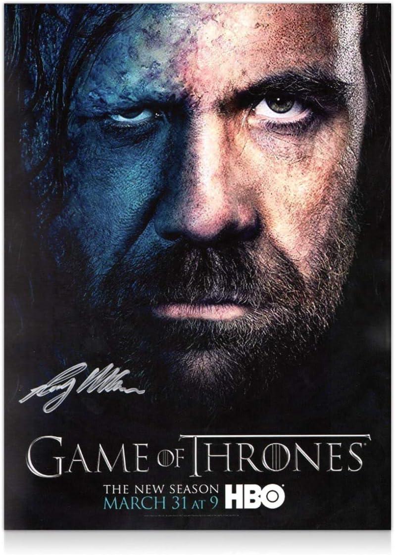 Cartel de Juego de Tronos firmado por Sandor Clegane: Amazon.es: Hogar