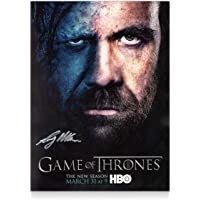 Sandor Clegane Signed Game Of Thrones Poster | Autographed TV Memorabilia