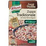 Knorr Zuppa Tradizionale con Orzo, Farro e Legumi, 2 Porzioni - 500 ml
