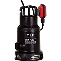 T.I.P. 30258 Bomba de inmersión, bomba de recirculación para aguas residuales DTX 7500 T incl. sistema de soportes…