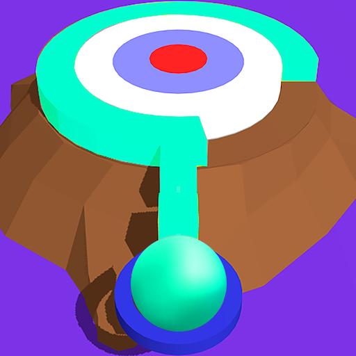 - Twisty Stack Hit 3D - paint color circle
