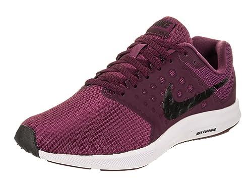sports shoes 94f6e a943e Nike Women s Downshifter 7 Tea Berry Black Bordeaux White Running Shoe 6  Women US
