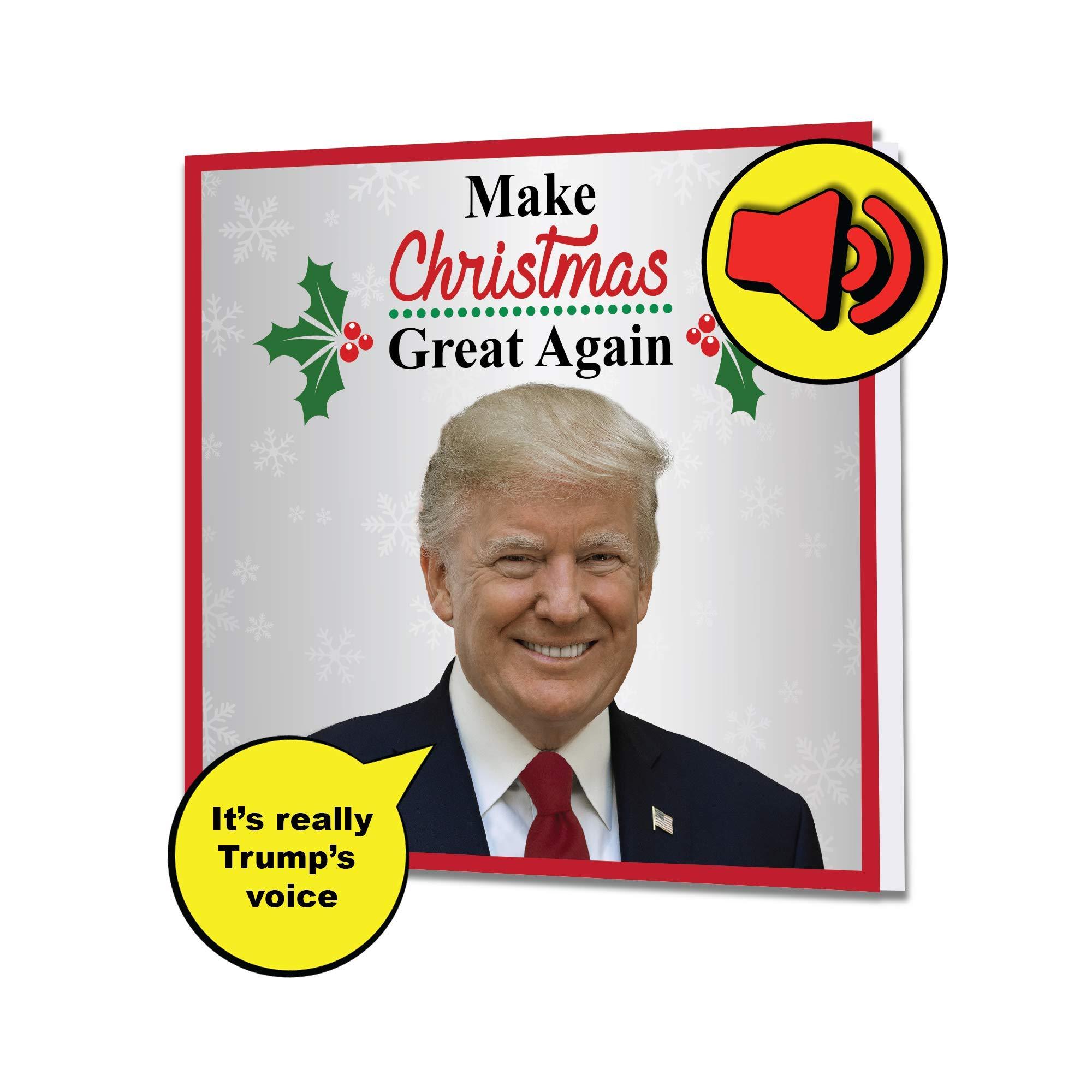 Amazon Com Funny Birthday Card Donald Trump Birthday: Amazon.com: Singing President Trump Birthday Greeting Card