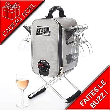 Cubicool - Refrigerador de bebidas portátil, color gris Aguanta ...
