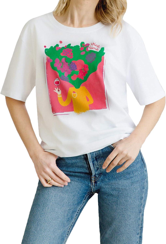 Wine Time idea de regalo vino amor vino Camiseta