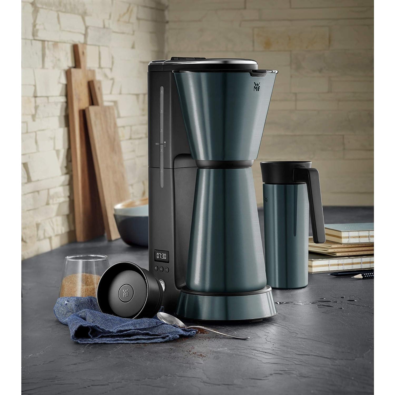 Cafetera con termo cafetera de filtro apagado autom/ático Metallic Blau WMF K/üchenminis Aroma 870/W taza t/érmica para llevar de 350/ml temporizador de 24 horas 5 tazas