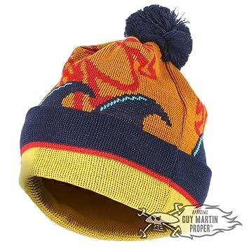 880602ce427 Guy Martin  Basil The Fox  Head Gasket Bobble Hat Beanie PomPom ...