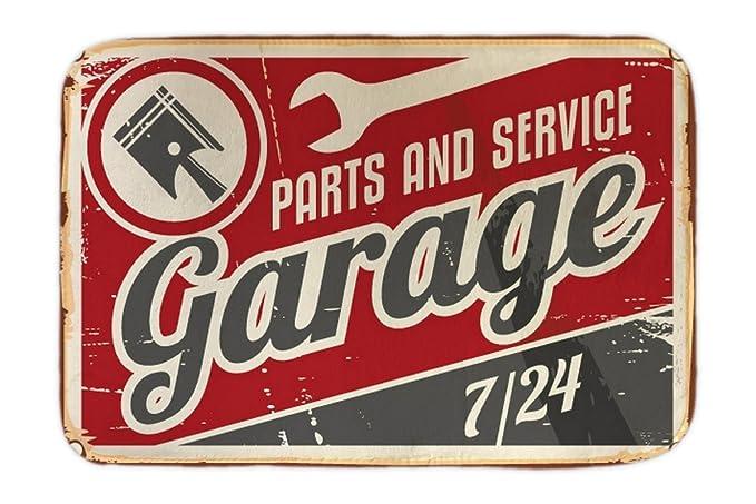 Cama Perro Coches Vintage Servicio de garaje impreso 40x60 cm: Amazon.es: Hogar