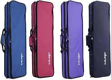 Estuche para violín 4/4, de gran calidad, marca Muzip -: Amazon.es: Instrumentos musicales