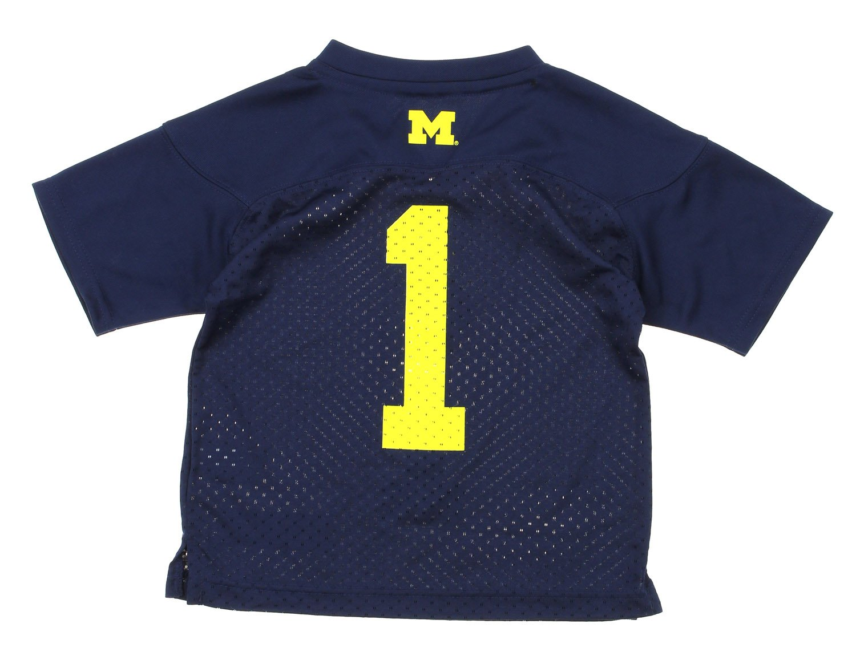 finest selection c7194 b20f1 Amazon.com : NCAA Kids Little Boys Michigan Wolverines #1 ...
