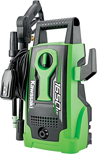 Kawasaki 1650 PSI Outdoor Cleaning Portable Electric Pressure Washer