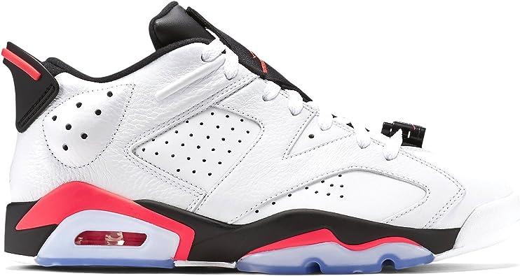 Nike Air Jordan 6 Retro Low, Espadrilles de Basket Ball