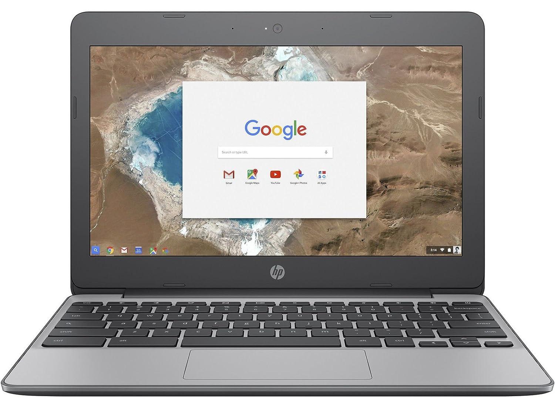 HP Chromebook 11-v001na 11 6 Inch HD (Grey) - (Intel Celeron N3060, 4GB  RAM, 16GB, USB 3 0, Google Chrome Os)