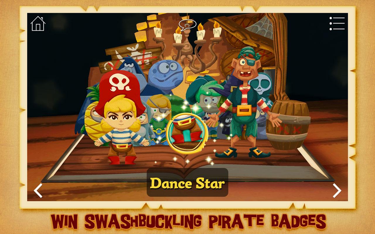 La princesa pirata ~ Libro Pop-Up interactivo en 3D