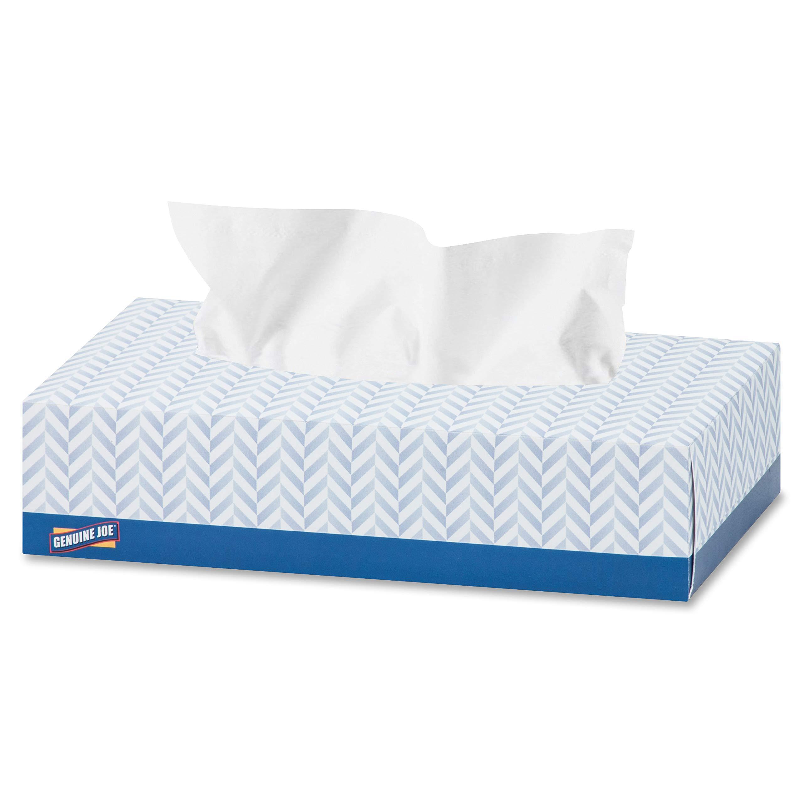 Genuine Joe 2-Ply Facial Tissue