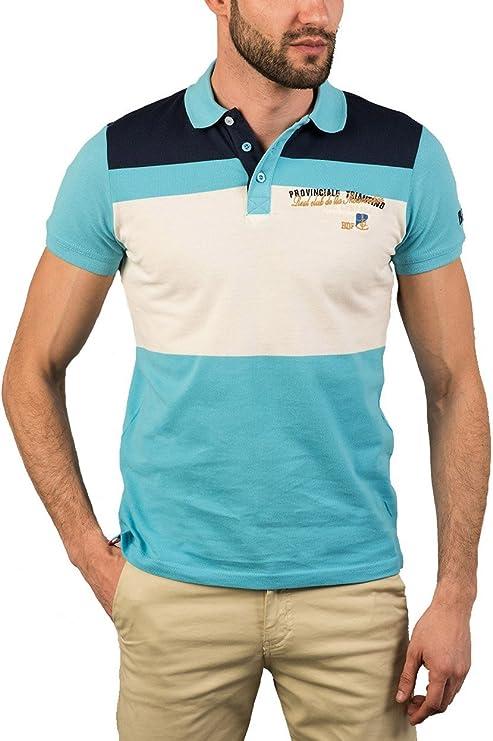 BENDORFF Polo - Polo para hombre, talla XXL, color Blanco: Amazon ...