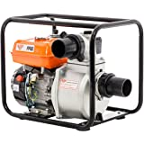 Pompe à eau thermique moteur 4 temps 6,5 cv débit 66000 l/h Ruris pp80 raccord 3 pouces 76mm