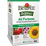 Burpee AP Organic All Purpose Water Soluble Plant Food, 10 oz