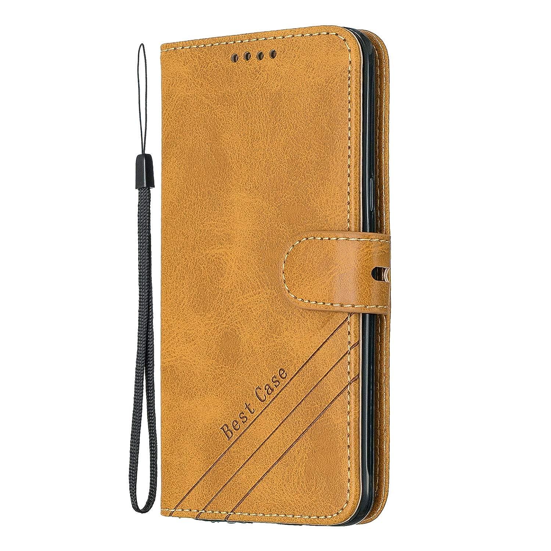 J510 Funci/ón de Plegado Flip Wallet Case Cover Carcasa Piel PU Billetera Soporte con Mariposa Grass Rojo pinlu Funda para Samsung Galaxy J5 2016 Version, 5.2 Pulgada