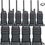 Retevis H-777S Walkie Talkie FRS Frequency License-Free Security Two Way Radios(10 Pack) with Programming Cable