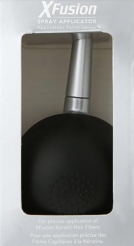 Amazon.com: xfusion Queratina Hair fibras aerosol aplicador ...