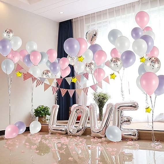 Set de globos de látex para decoración - Color Macaron