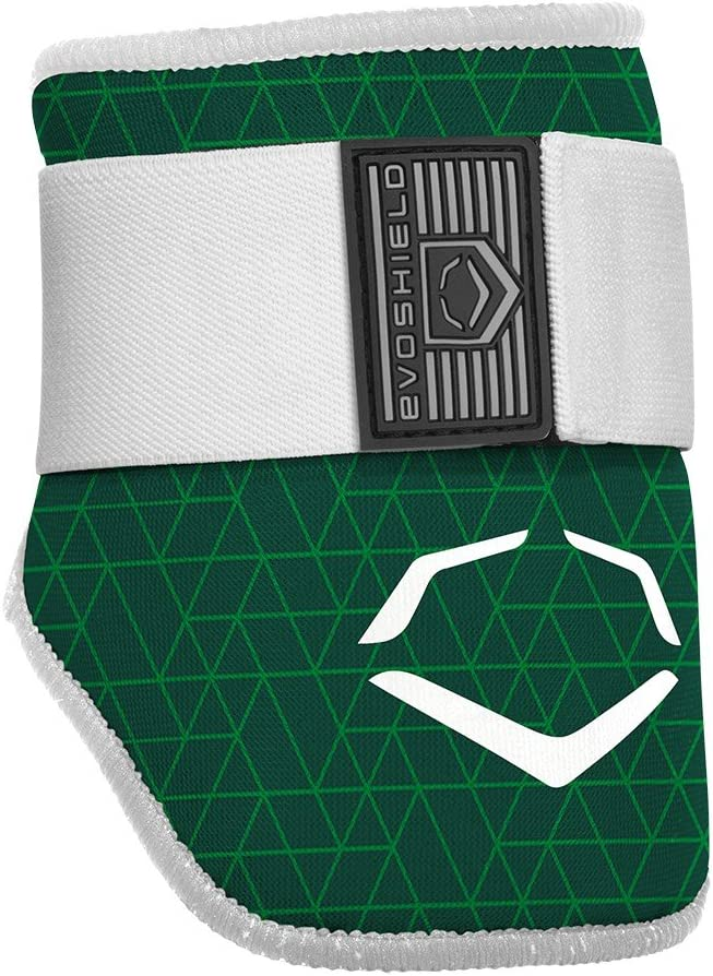 EvoShield EvoCharge Batter's Elbow Guard - Adult, Green : Sports & Outdoors