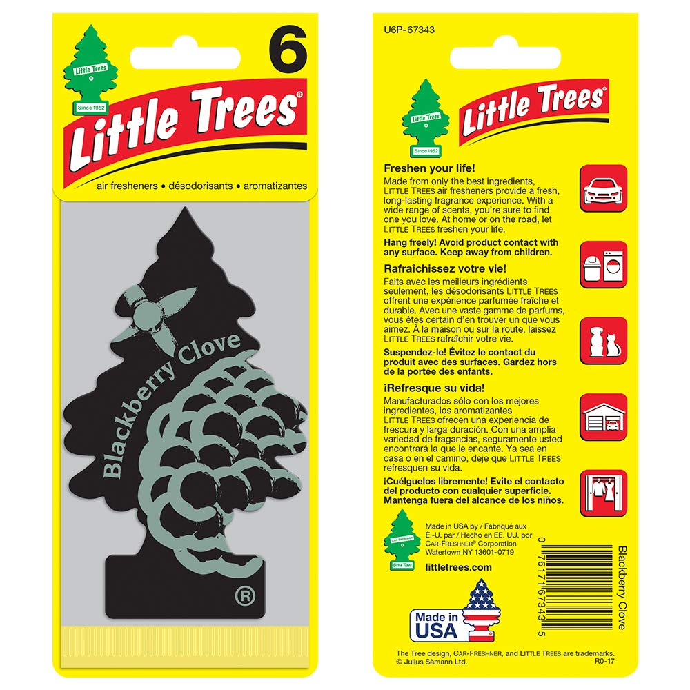 Little Trees Blackberry Clove Air Freshener Pack Of 24 Viair Manufacturer Price Shipping 90111 Pressure Switch Fresheners Amazon Canada