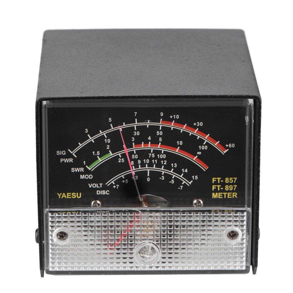 FT-897 Compteur dexpansion Multifonction Compteur Externe SWR Power Meter Recevoir des afficheurs pour Yaesu FT-857 Bewinner M/ètres daffichage externes de m/ètre de S