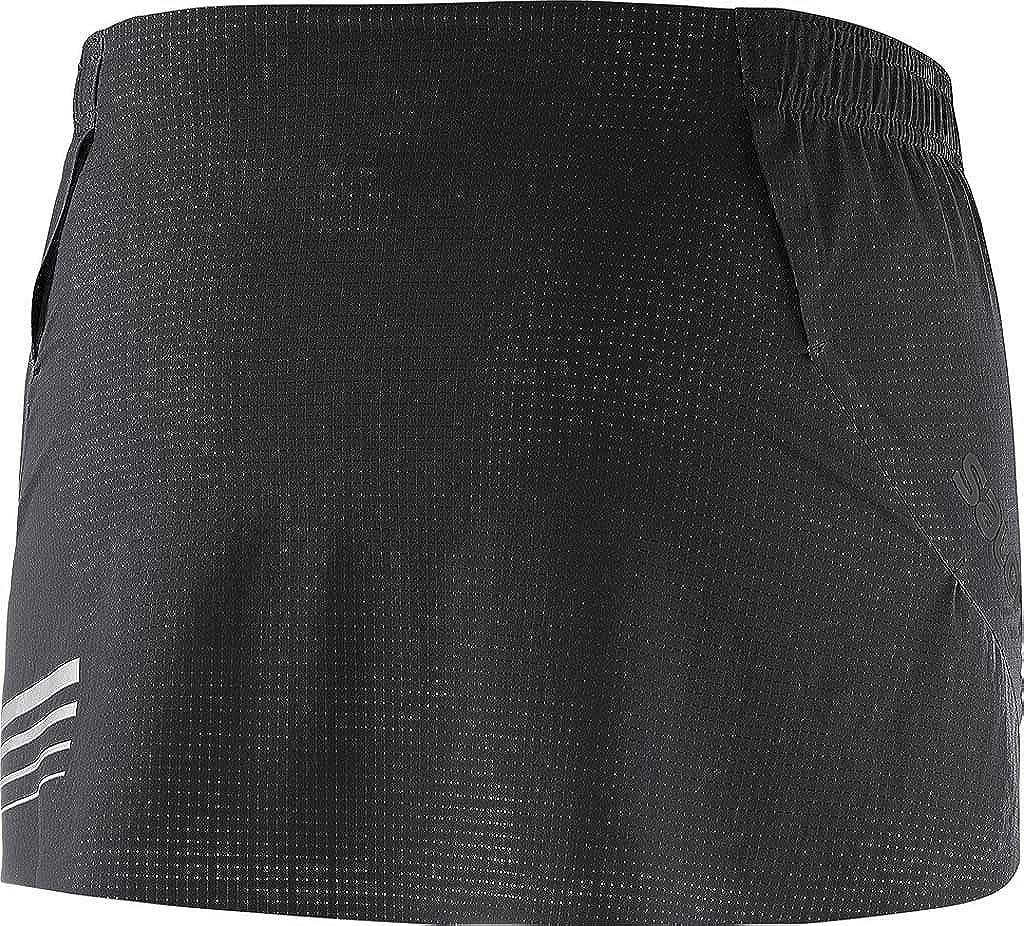 57b910f867d9d Amazon.com: Salomon Women's S-Lab Light Running Skirt, Black, Small ...