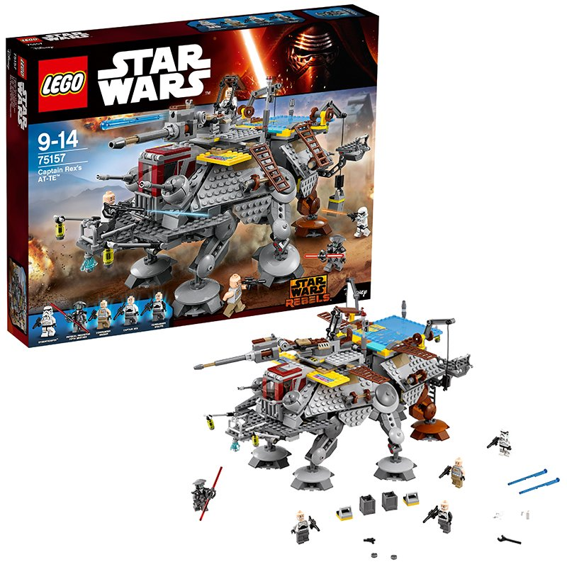 LEGO Star Wars - 75157 Captain Rex´ AT-TE per 88,89€ [amazon.co.uk]
