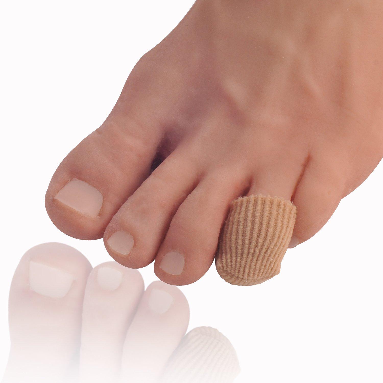 Dr. Frederick's Original Fabric Toe Caps - Toe Separators - 2 pairs - Size Small