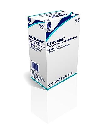 Premier detectores estéril detectables por rayos rápida borde cinta gasa (fergs) 10 cm x