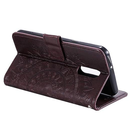 Abuenora Funda para LG Stylo 5, Carcasa Libro con Tapa Flip Case Antigolpes Resistente Golpes Protectora Cartera PU Cuero Suave para LG Stylo 5 - ...