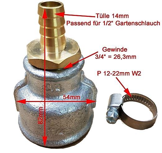Favorit Spülmuffe für für einen Rammbrunnen oder Schlagbrunnen_-=-_ Auch GF41