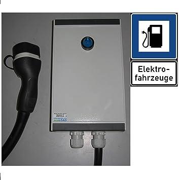ecoLOAD Wallbox Tipo 2 - Cargador de Coche eléctrico
